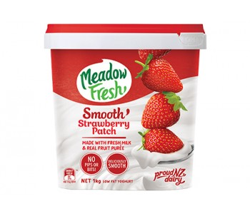 MF SMOOTH Yog 1kg StrawberryPatch